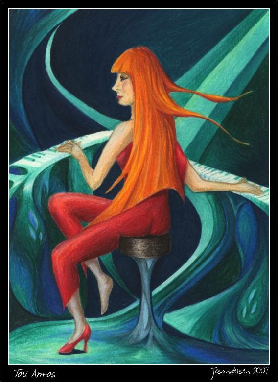 Tori Amos by jesandersen