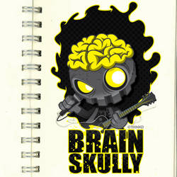 Brain Skully by thinkd