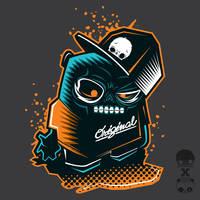 Zombie Panda x Biim by thinkd