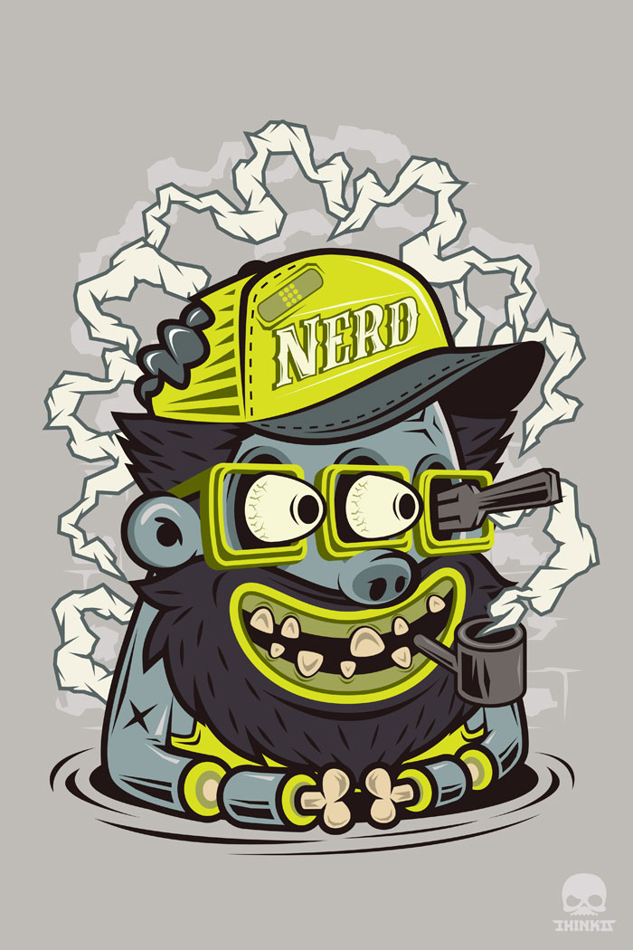 Nerd-Captain by thinkd