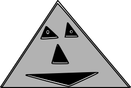 Triangle Smiley by wsc92