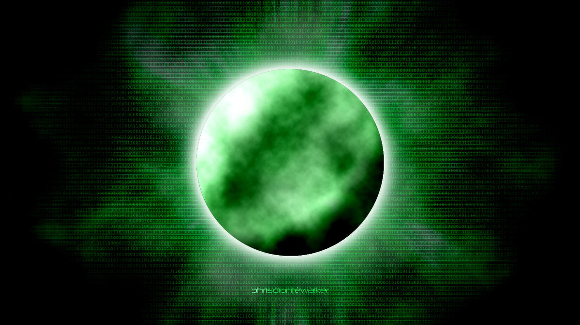 The Green Moon by chrisdiontewalker