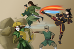 Kyoshi's Team Avatar - The Rise of Kyoshi