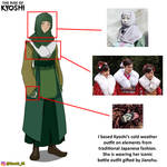 Kyoshi Design Reference   The Rise of Kyoshi