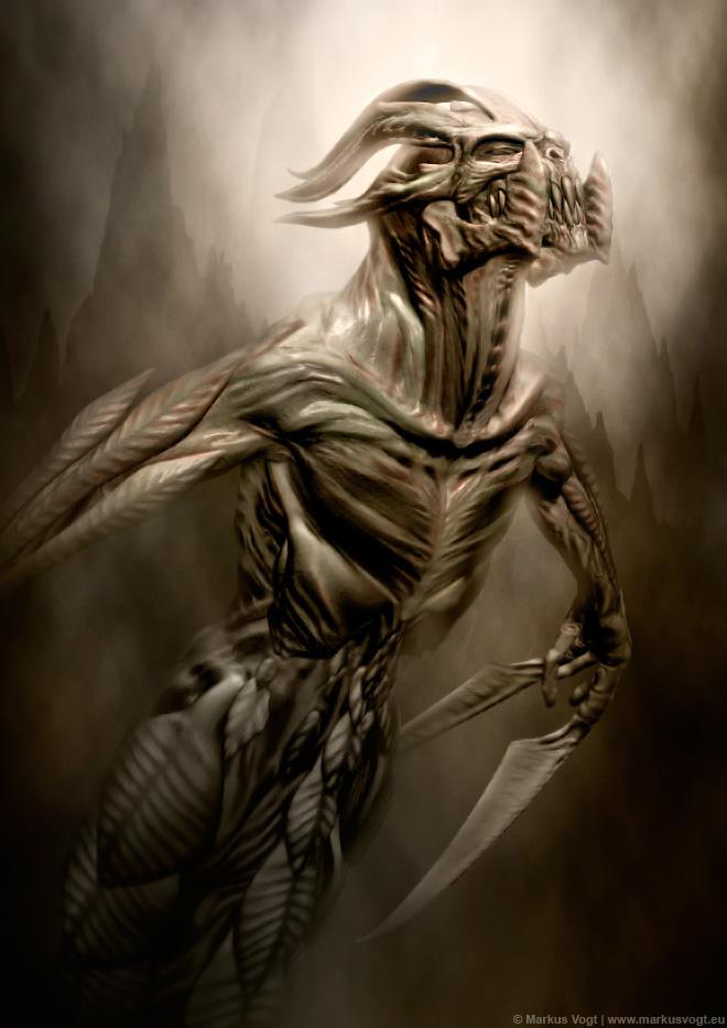 Scythe Warrior by MarkusVogt