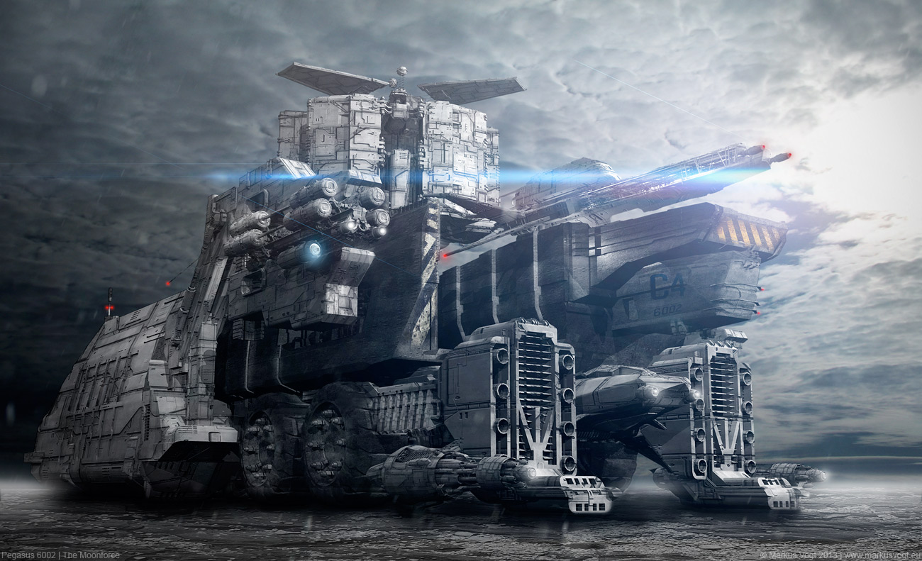 Pegasus 6002 - The Moonforce by MarkusVogt