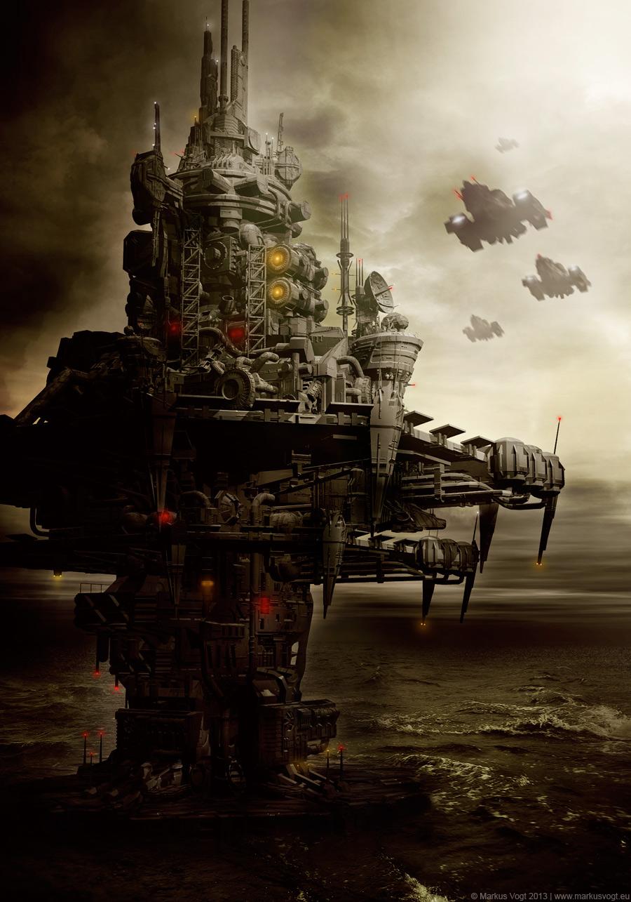 Aquaticon - The Watchtower by MarkusVogt