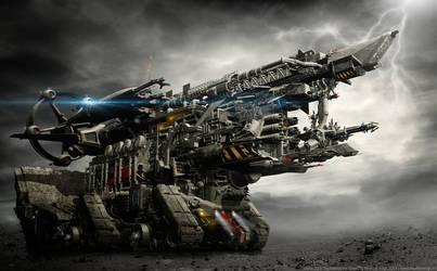 Orion 03 - Thunderstorm Rising by MarkusVogt