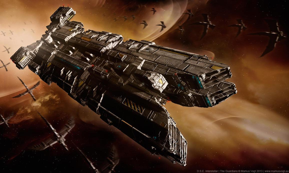 D.S.E. Interstellar - The Guardians by MarkusVogt