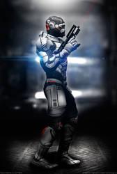 Space Marine 3 - On Patrol by MarkusVogt