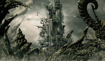 Axan VII-2 | The Alien Desert by MarkusVogt