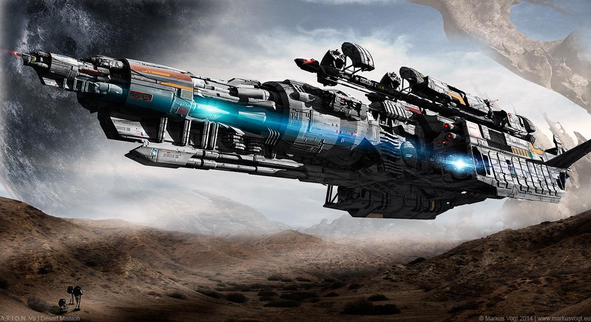A.X.I.O.N. V9 | Desert Mission by MarkusVogt