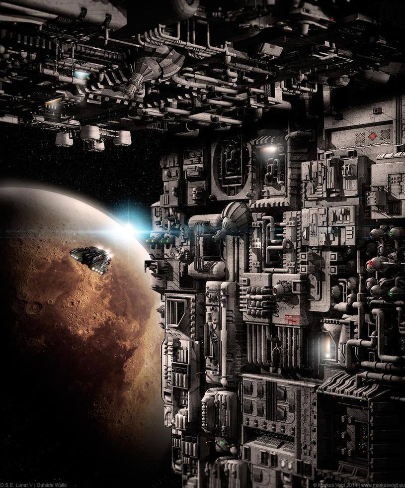 D.S.E. Lunar V | Outside Walls by MarkusVogt