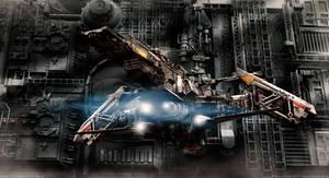 Hangar C | Ready for takeoff by MarkusVogt