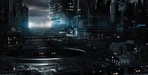Nightfall | Neo Tokyo III by MarkusVogt