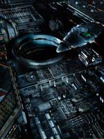 Cylons Night | Neo Tokyo IV by MarkusVogt