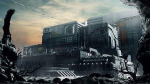 Fortress | Neo Tokyo V by MarkusVogt