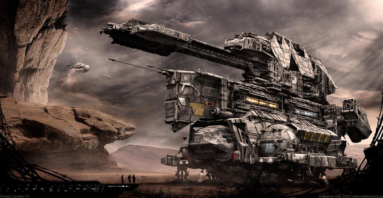 Forced Landing 3.0 by MarkusVogt