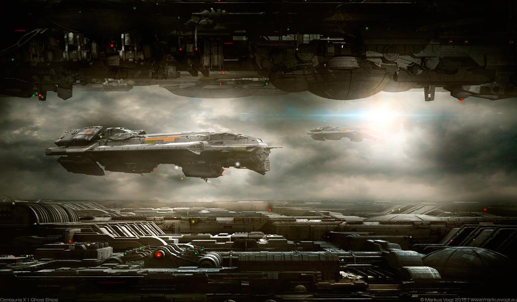 Centauria X | Ghost Ships by MarkusVogt