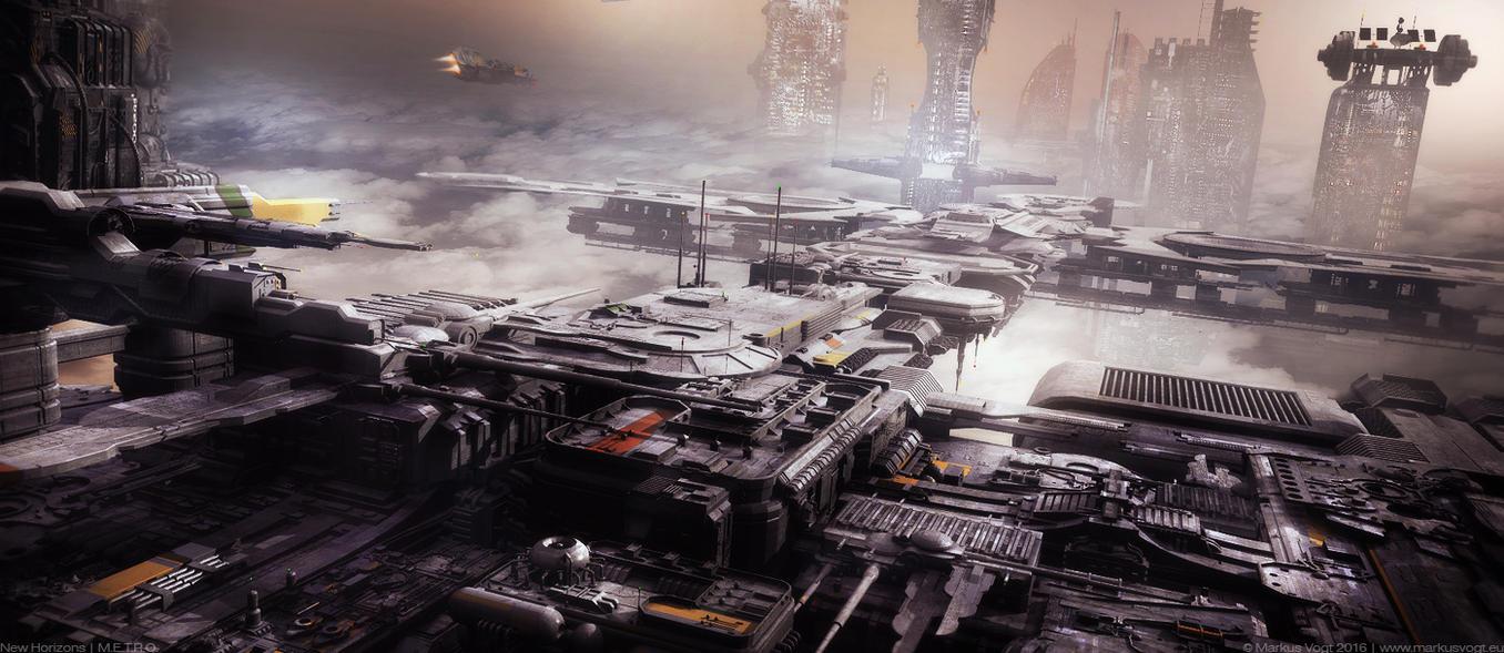 New Horizons | M.E.T.R.O. by MarkusVogt