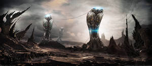 Giants Land | The Trinity by MarkusVogt