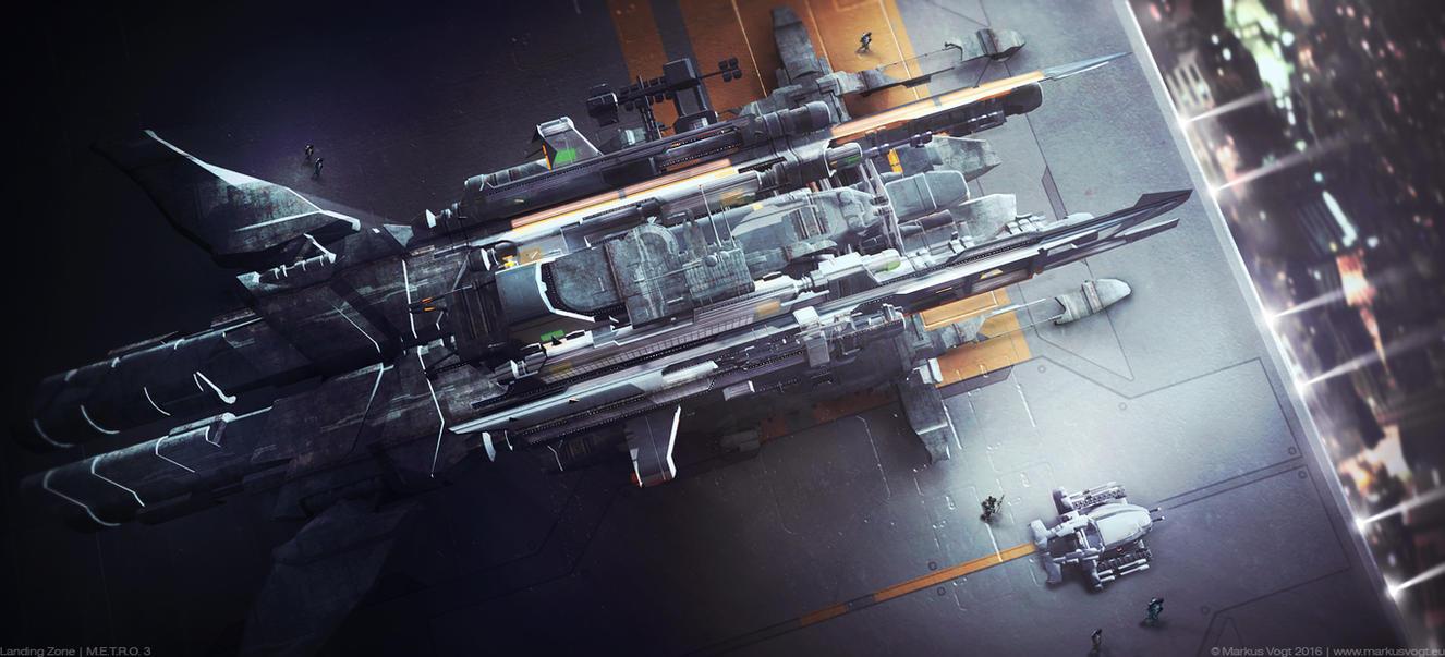 Landing Zone | M.E.T.R.O. 3 by MarkusVogt