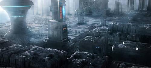 Foglands   Neo Tokyo XIV by MarkusVogt