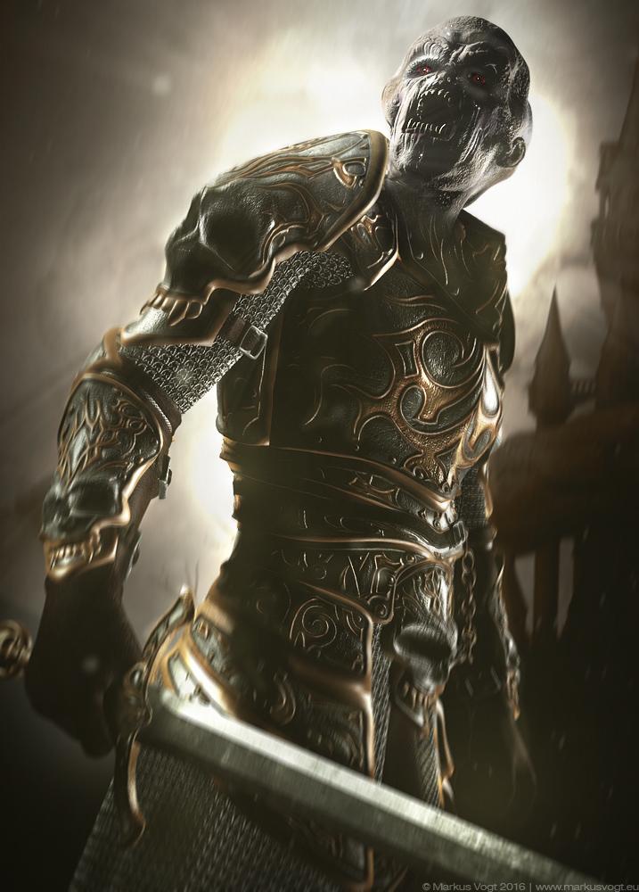 Knight of darkness by MarkusVogt