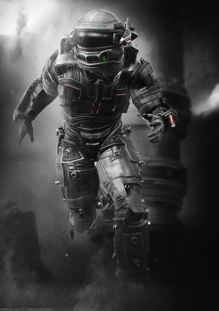 Space Hunter by MarkusVogt