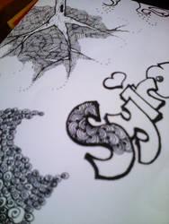 Random doodle by SyahirahKhuzaizi