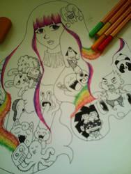 Rainbow by SyahirahKhuzaizi
