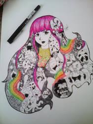 The result. Rainbow Girl by SyahirahKhuzaizi
