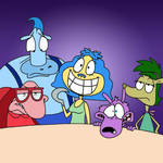 Rocko's Mordern Life + Inside Out