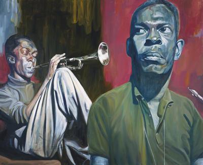 John Coltrane w/ Miles Davis by slaumann