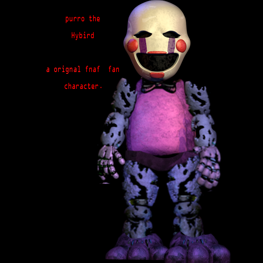 purro the hybird a orignal fnaf fan character by fnafalls123