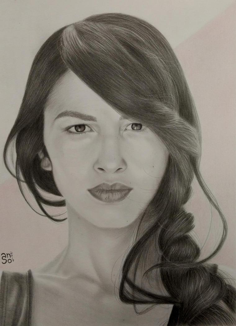 Elodie Yung by shakuzino