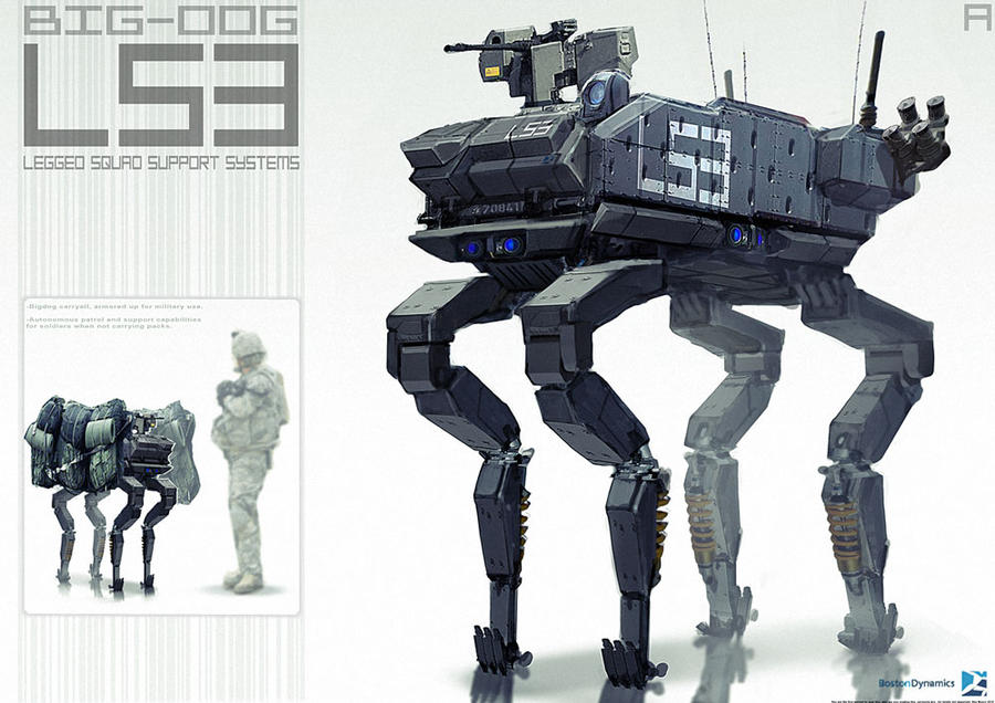 Big-Dog LS3 by BenMauro