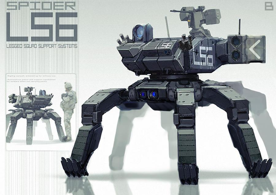 Big-Spider LS6 by BenMauro