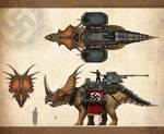 Armored Styracosaur