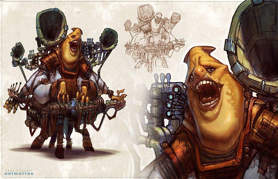 Alien 03 by BenMauro