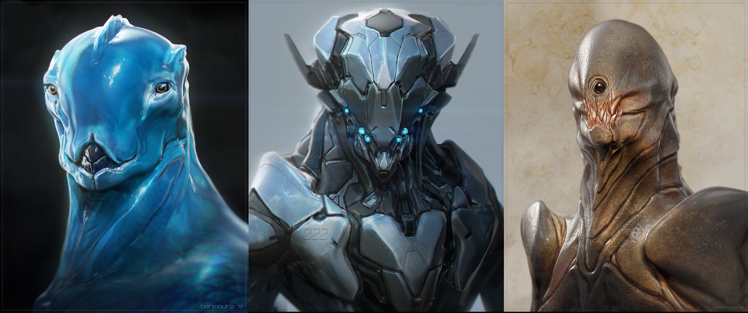 ZBrush for Concept Artists Vol. 1 Bonus Content by BenMauro