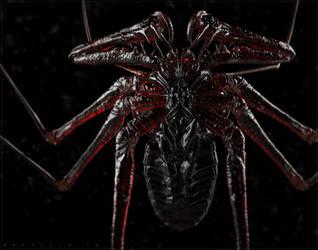 Whip Spider Render by BenMauro