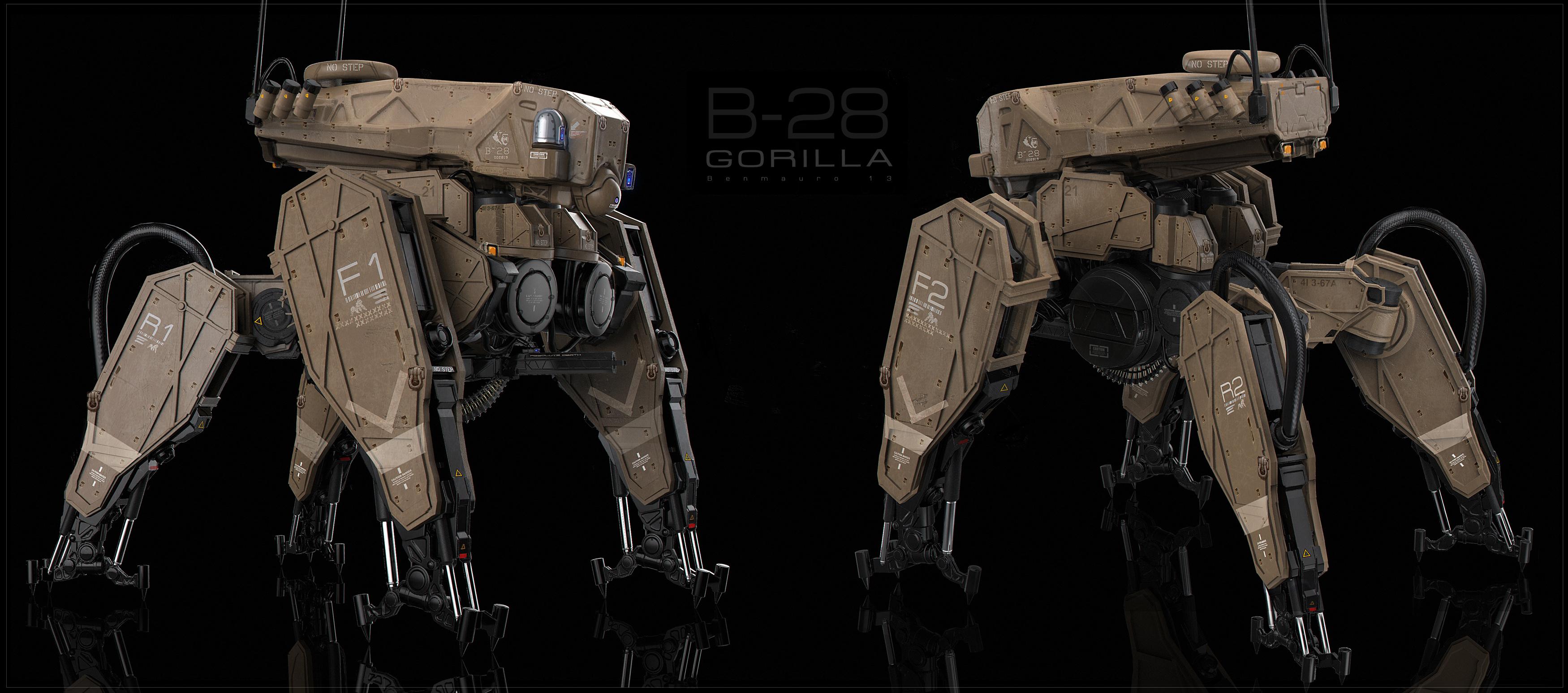 Gorilla Tank ortho by BenMauro