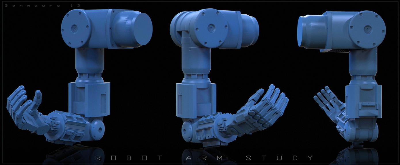 Free Robot Arm by BenMauro