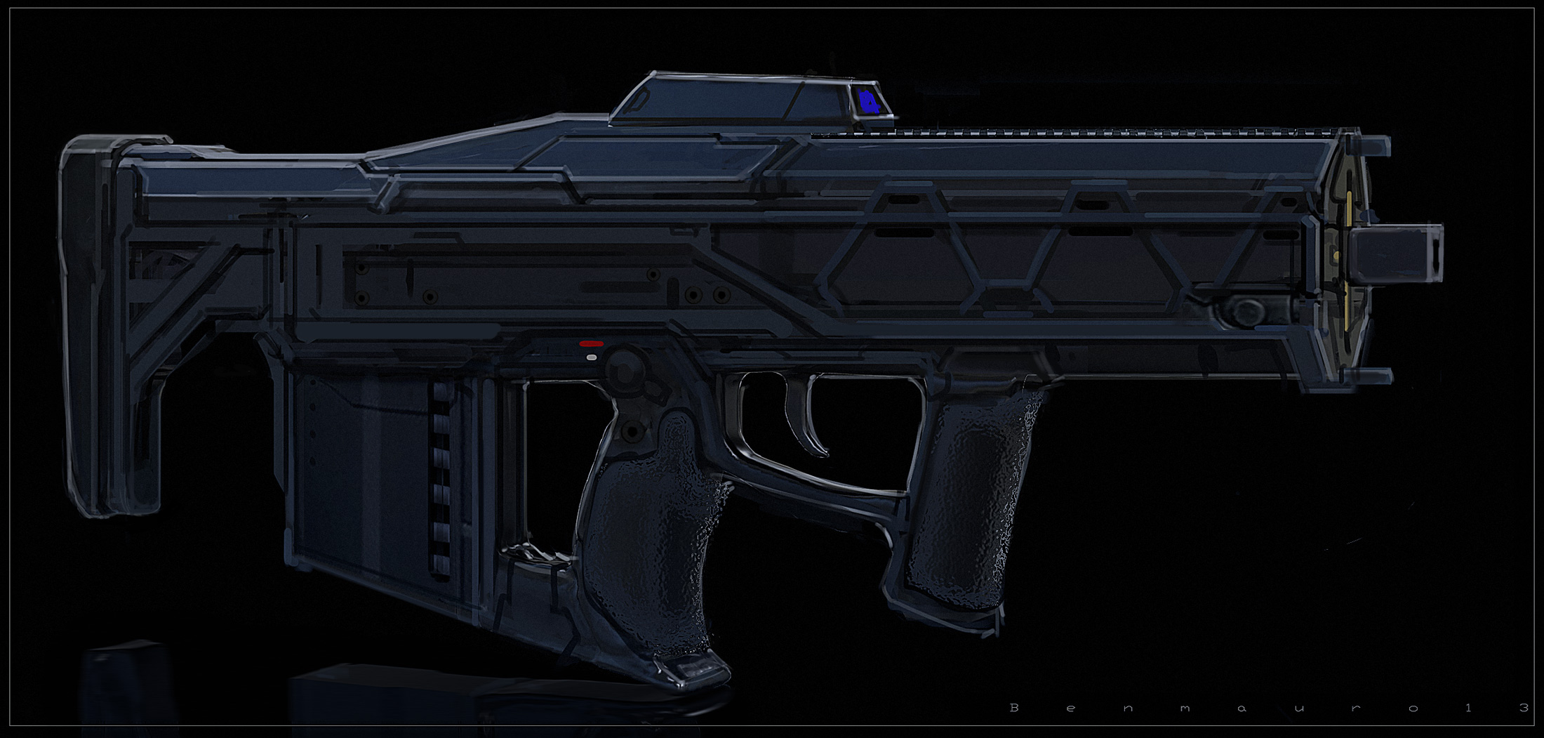 Future Bullpup by BenMauro