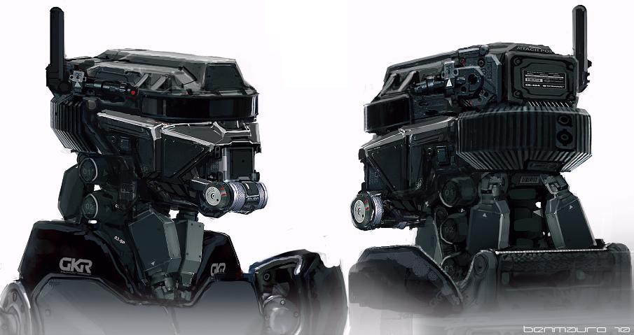 ELYSIUM - Robots by BenMauro