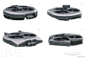 ELYSIUM - UAV Variants by BenMauro