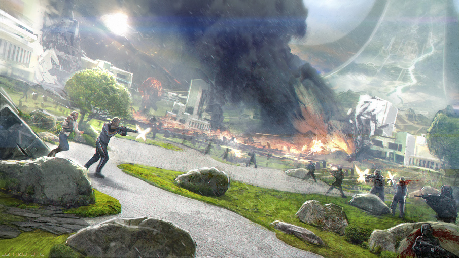 ELYSIUM - Battle by BenMauro