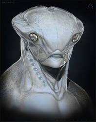 Gecko Alien by BenMauro