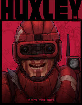 HUXLEY PART 3 COVER